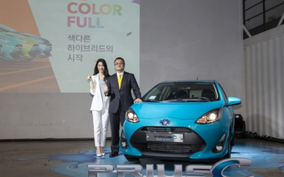 Toyota Korea releases Prius C hybrid with fuel, price efficiency