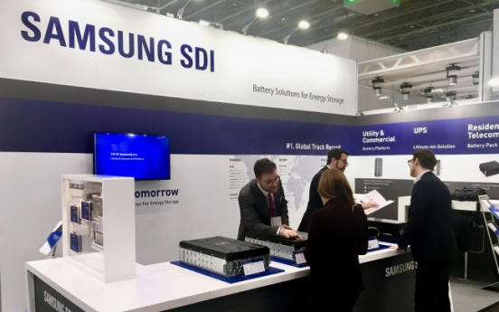 Samsung SDI introduces upgraded ESS battery cell at ESE 2018
