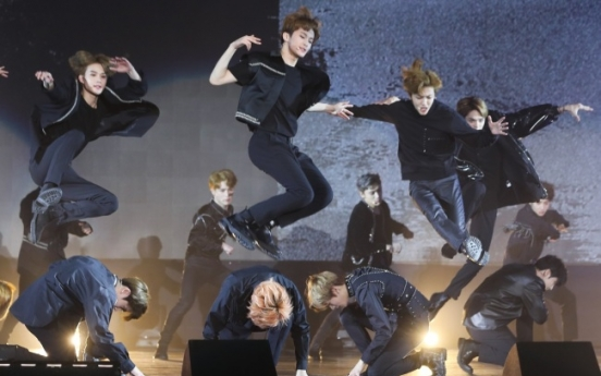 Global boy band project NCT on attack as full group