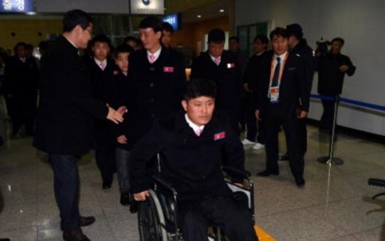 [PyeongChang 2018] N. Korea's delegation to Paralympics returns home