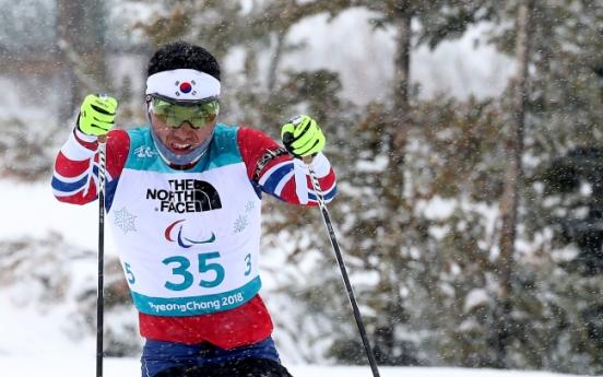 [PyeongChang 2018] S. Korea's Sin Eui-hyun finishes 5th in 15km sitting biathlon at PyeongChang Paralympics