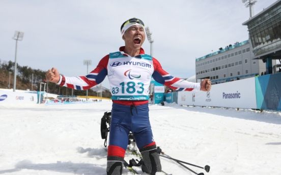 [PyeongChang 2018] Para Nordic skier Sin Eui-hyun becomes 1st S. Korean to win gold at Winter Paralympics