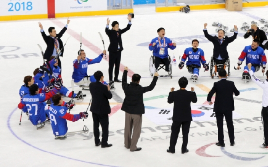 [PyeongChang 2018] S. Korea defeats Italy to take ice hockey bronze at PyeongChang Paralympics