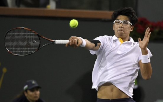 Korean Chung Hyeon becomes top-ranked Asian on ATP Tour