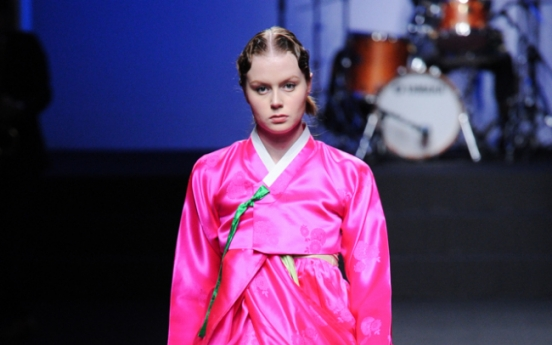 Seoul Fashion Week kicks off with modern take on hanbok