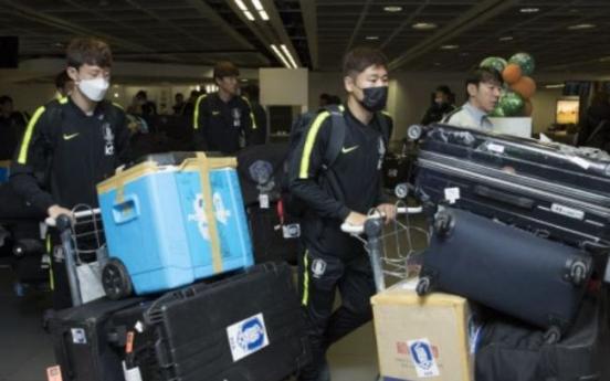 Korea nat'l football team set to train with full squad for European friendlies