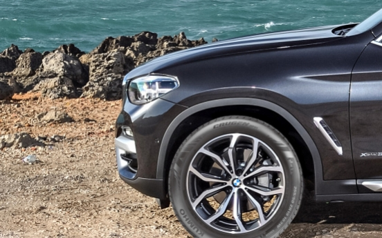 Kumho Tire to supply tires for BMW's new X3