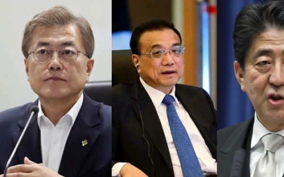South Korea, China, Japan to hold summit in May: report