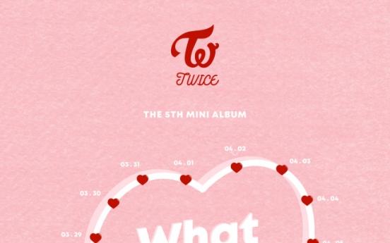 Twice to release album on April 9