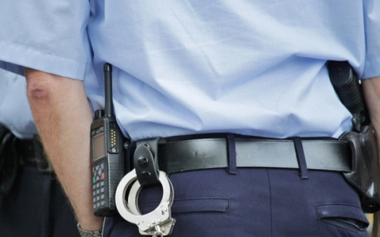 Conscripted policeman caught trespassing at girls' school