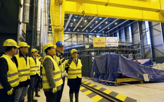 Korea to send more scientists to int'l nuclear fusion reactor project: govt.