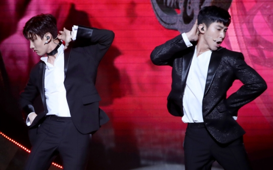 K-pop duo TVXQ take on new challenge with love-filled album