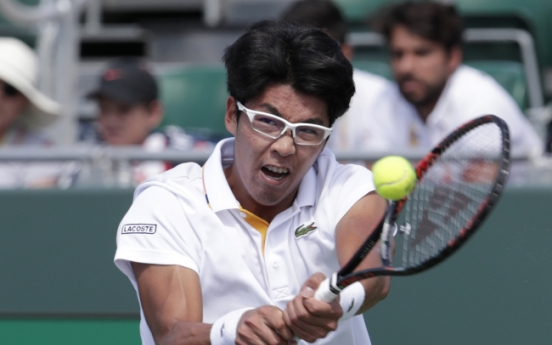Korean Chung Hyeon knocked out of ATP Tour quarters in Miami
