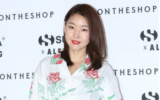 Han Hye-jin stunning at shoes event