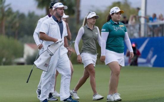 Park In-bee deadlocked in suspended playoff at LPGA major