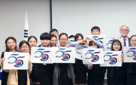 EU inspires, educates students at 55th diplomatic anniversary