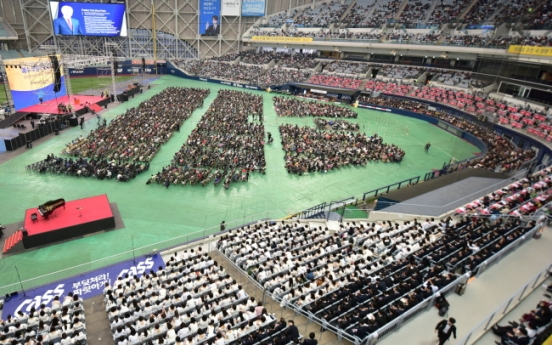 South Korean Christians gather for joint Easter service
