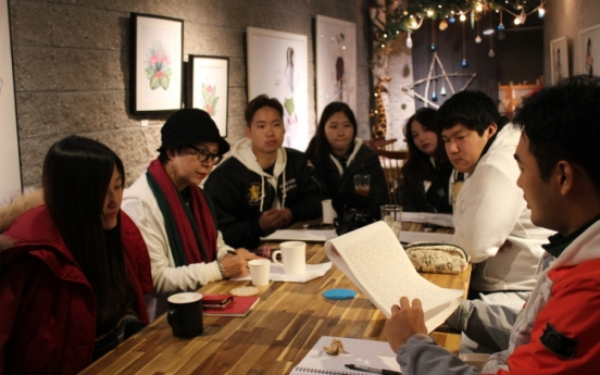 Writing classes at Mulmangcho Open School bring students from North and South together