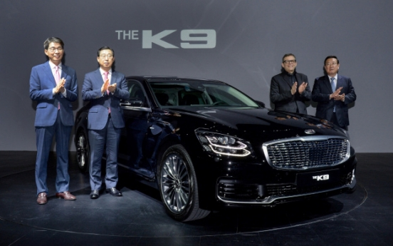 Kia launches all-new K9, aims to sell 15,000 units
