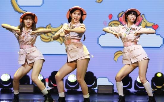 Oh My Girl returns as seven monkeys