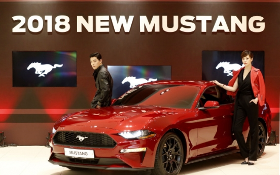 Ford Korea rolls out flagship 2018 New Mustang