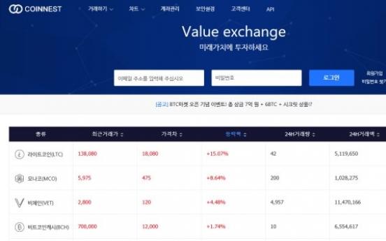 S. Korean crypto exchange CEO nabbed for embezzlement