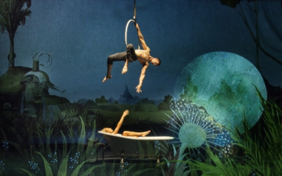 'Bosch Dreams' acrobatic performance highlights Dutch painter's phantasmagoria