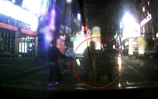 Taxi driver beaten in DUI fender bender case