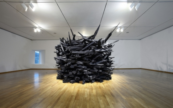 Artists use familiar materials to express themselves