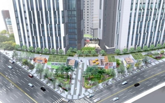 Traffic island at Seocho Station to turn into 'children square'