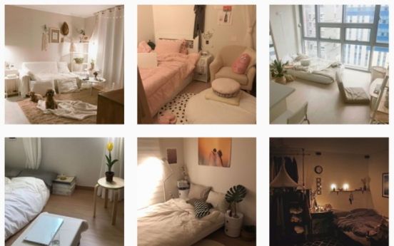 Young Koreans maximize small rooms with cozy interiors