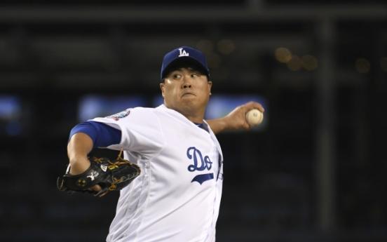 Dodgers' Ryu Hyun-jin wins 2nd consecutive start