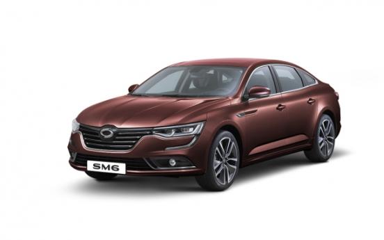 Renault Samsung Motor's SM6 boasts premium options