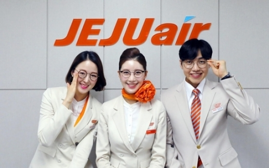 Flight attendants on Jeju Air can now wear glasses, nail art