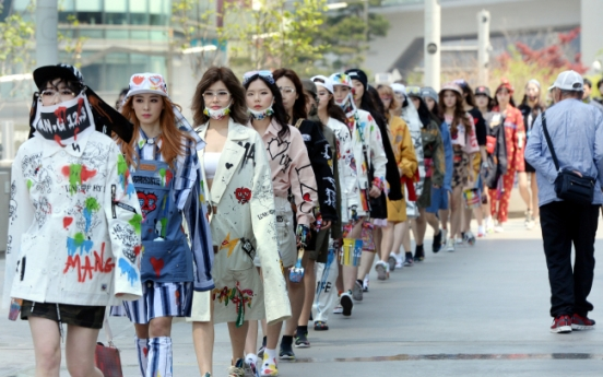 [Photo News] Graffiti on fashion