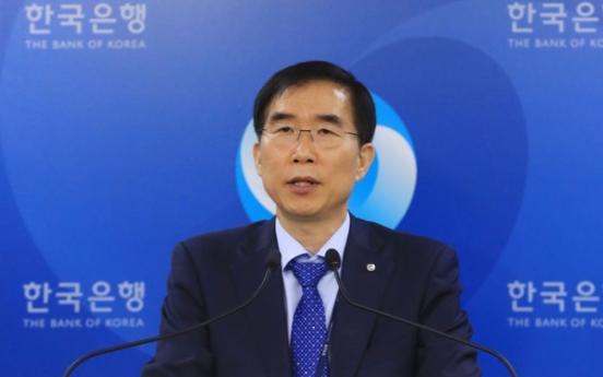 Korean economy grows 1.1% on-quarter in Q1: BOK