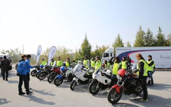 [Feature] Middle-aged riders reduce Korea's stigma of motorcycles