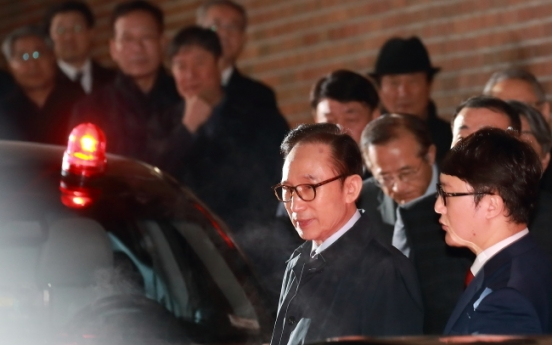 Trial begins for ex-leader Lee Myung-bak in corruption scandal