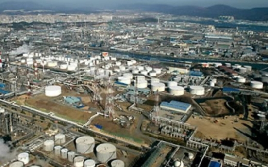 Korea's industrial output dips 2.5% in March
