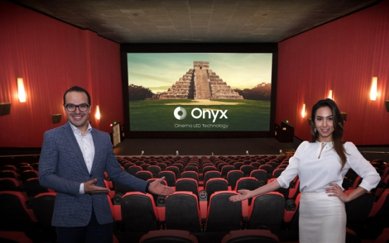 Samsung to provide cinema LED screen for movie theaters in Mexico