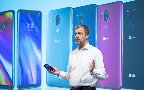 LG Electronics unveils G7 ThinQ in New York