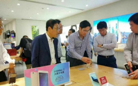 이재용 삼성전자 부회장, 중국 선전에서 일본 오사카로 이동