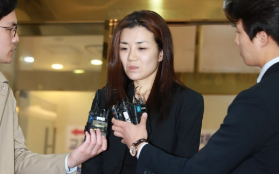 Prosecution rejects Korean Air heiress' arrest warrant over alleged assault
