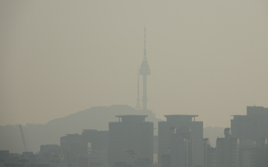 Air pollution causes more panic than North Korea's Kim Jong-un