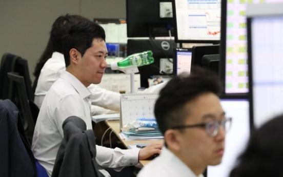 Korean stocks newly added to MSCI EM moderately rally
