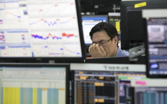 Kospi-listed firms see higher indebtedness in 2017: KRX
