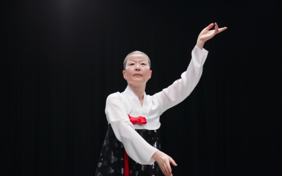 Ahn Eun-me creates anew traditional dance from North Korea