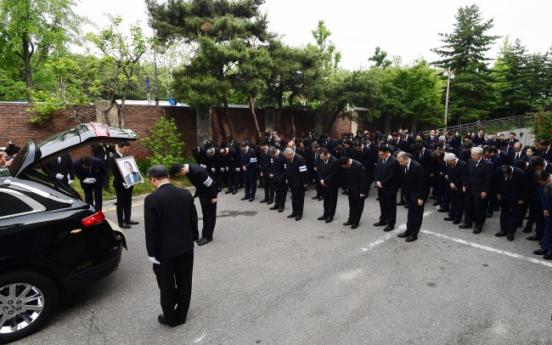 [Photo News] LG Chairman Koo Bon-moo is laid to rest