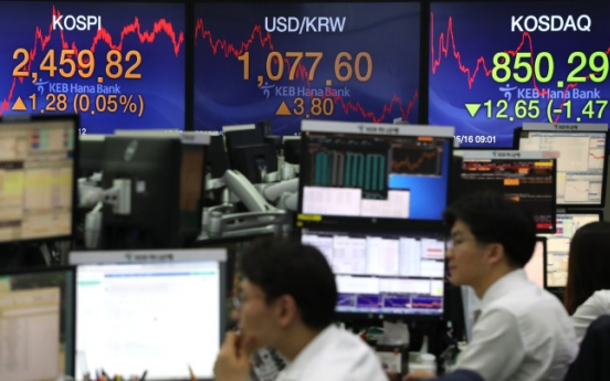 Value of shares owned by 30 richest stockholders in Korea declines 5%