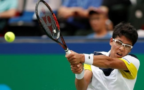 Chung Hyeon skips 2nd straight ATP event with ankle injury
